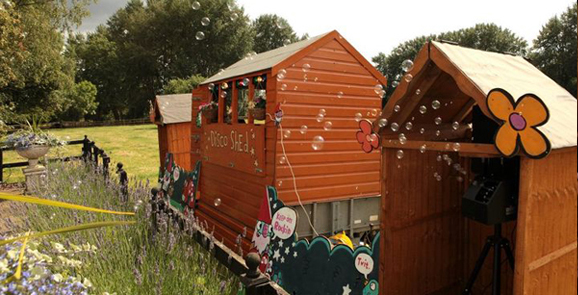 Disco Shed at Fallowfields
