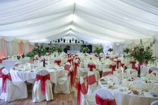 Gilwell Park Marquee