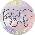 Loved by Festival Brides badge