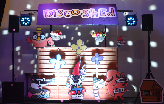 Indoor Disco Shed